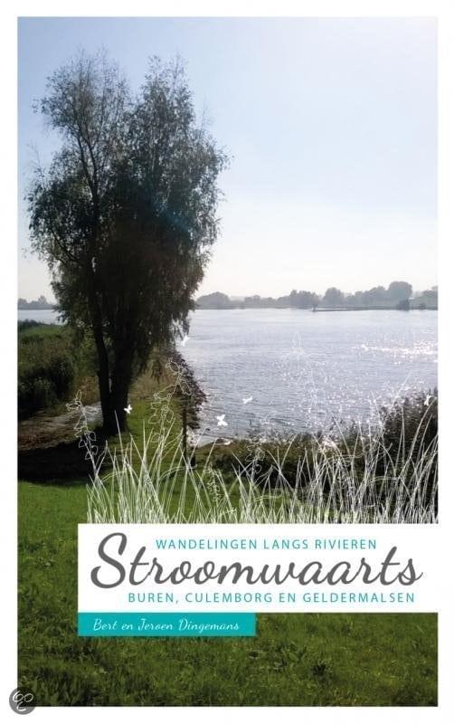 Stroomwaarts: wandelen langs rivieren - Bert Dingemans